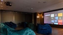 Virginia House Cinema Room and Screen