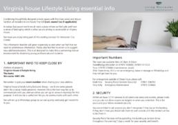 Virginia House Handbook - Example
