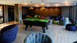 Virginia House Pool Room Area
